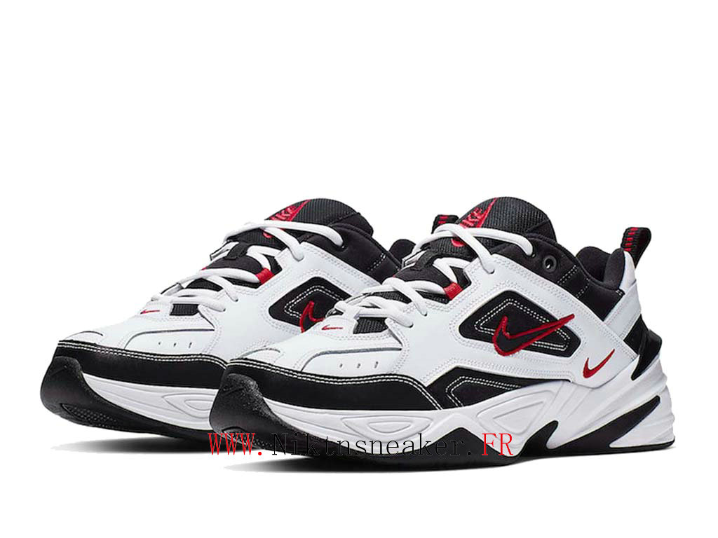2020 Nike M2K Tekno Black / White / Red AV4789-104 Sport Men ́s Women ́s Cheap Running Shoes