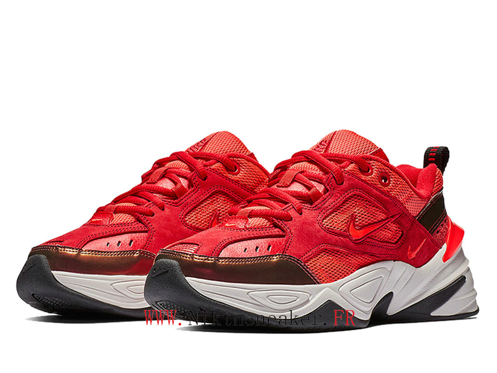 2020 Nike M2K Tekno Black / White / Red AV7030-600 Sport Cheap Running Shoes Men ́s Women ́s