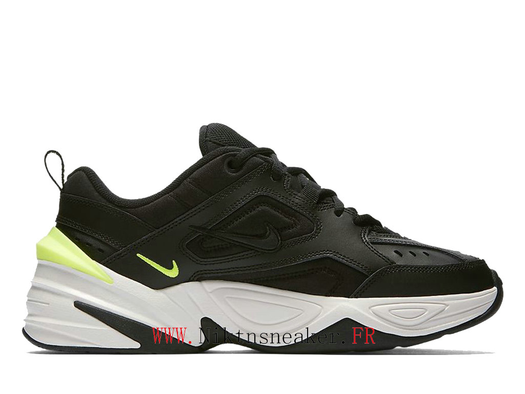 2020 Nike M2K Tekno Black / White / Green AO3108 002 Sport Men ́s Women ́s Cheap Running Shoes