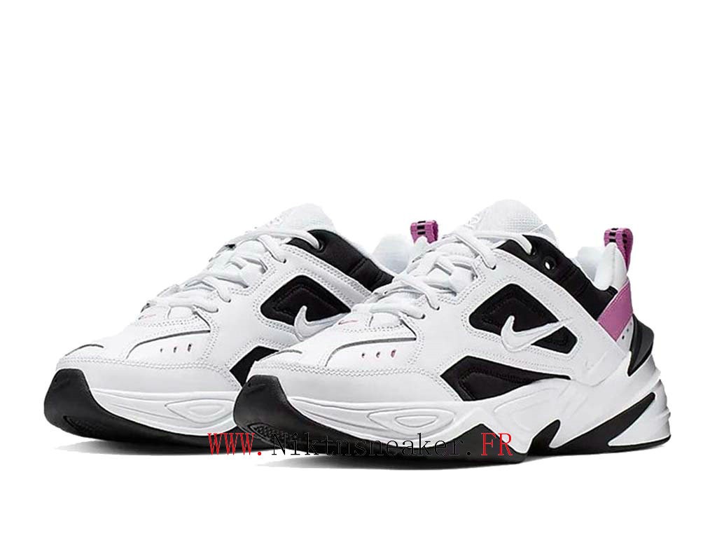 2020 Nike M2K Tekno Black / White / Purple AO3108-105 Sport Cheap Running Shoe Women ́s