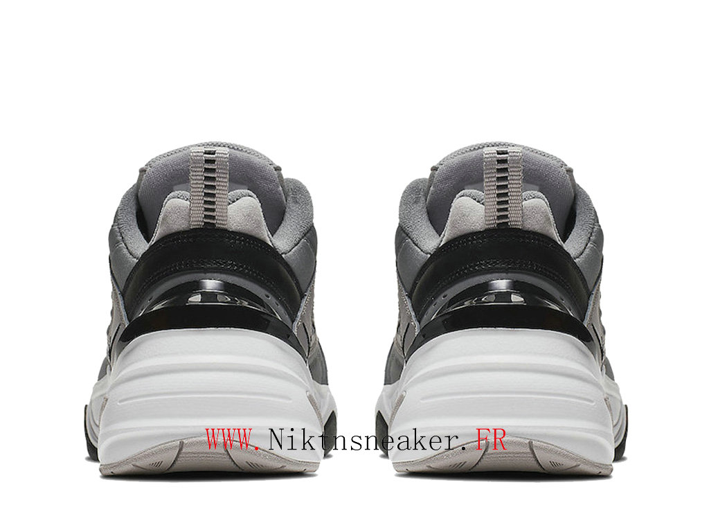 2020 Nike M2K Tekno Black / Gray / White AV4789-007 Sport Men ́s Cheap Running Shoes