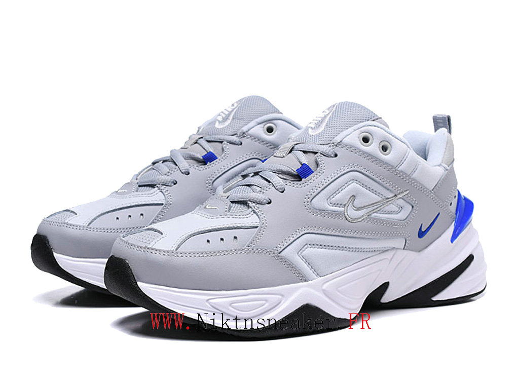 2020 Nike M2K Tekno Black / Gray Blue / White AV4789 005 Sport Men ́s Women ́s Cheap Running Shoes