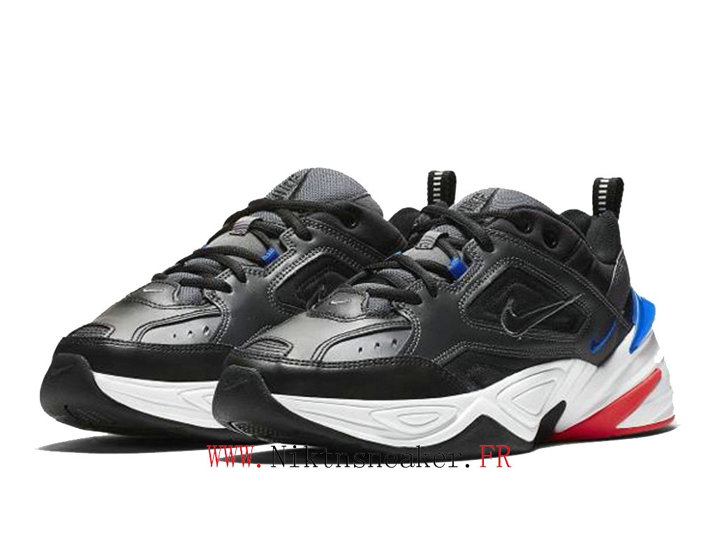 2020 Nike M2K Tekno Black / Red / White Blue AV4789 003 Sport Cheap Running Shoes Men ́s Women ́s