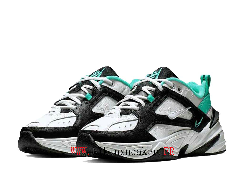 2020 Nike M2K Tekno Black / Green / White AO3108-102 Sport Men ́s Women ́s Cheap Running Shoes