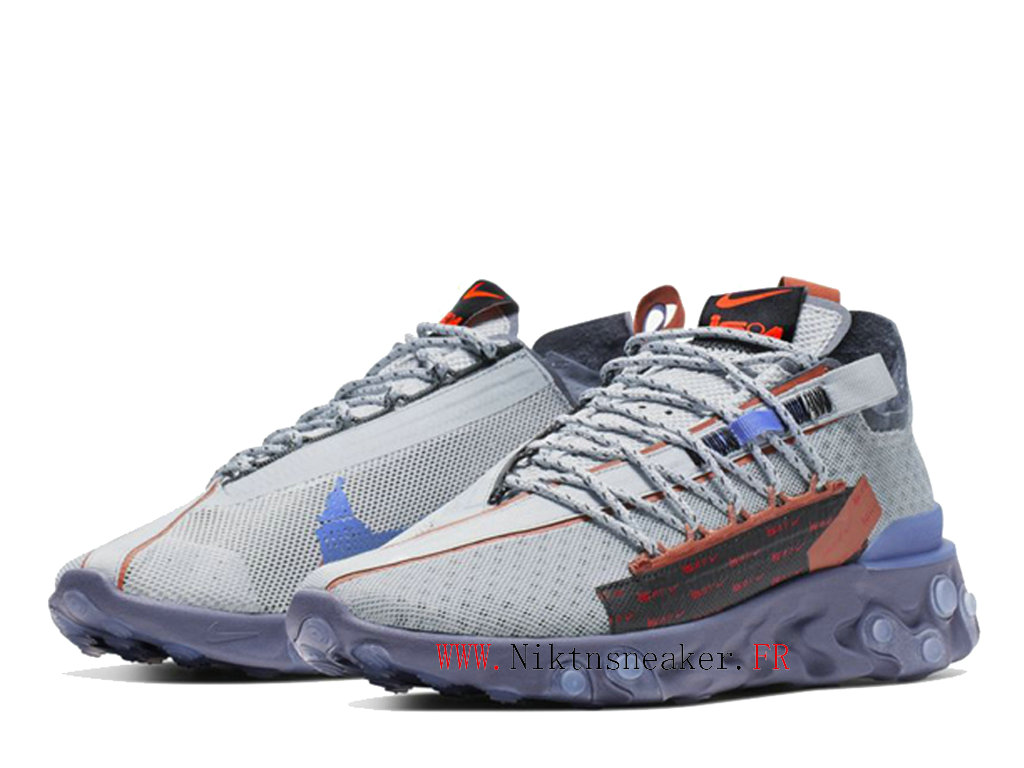 2020 Nike Recat Lw Wr Ispa Gray / Purple / Blue CT2692-001 Men ́s Women ́s Retro Running Shoes Retro