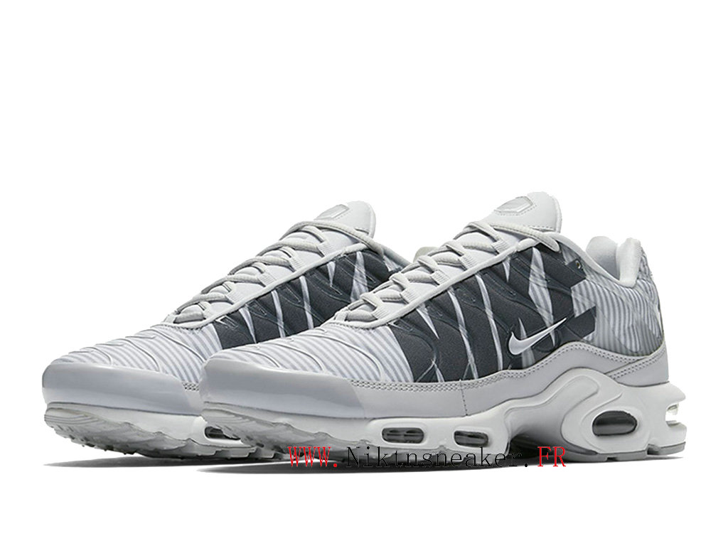 2020 Nike Tn Air Max Plus White / Gray AT0040-003 Men ́s Sportswear Cheap Shoes
