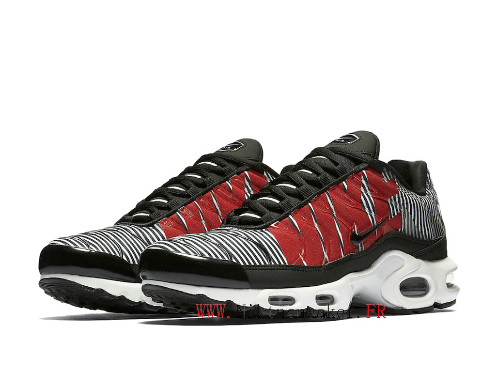 2020 Nike TN Air Max Plus Black / Red / White AT0040-001 Men ́s Sportswear Cheap Shoes