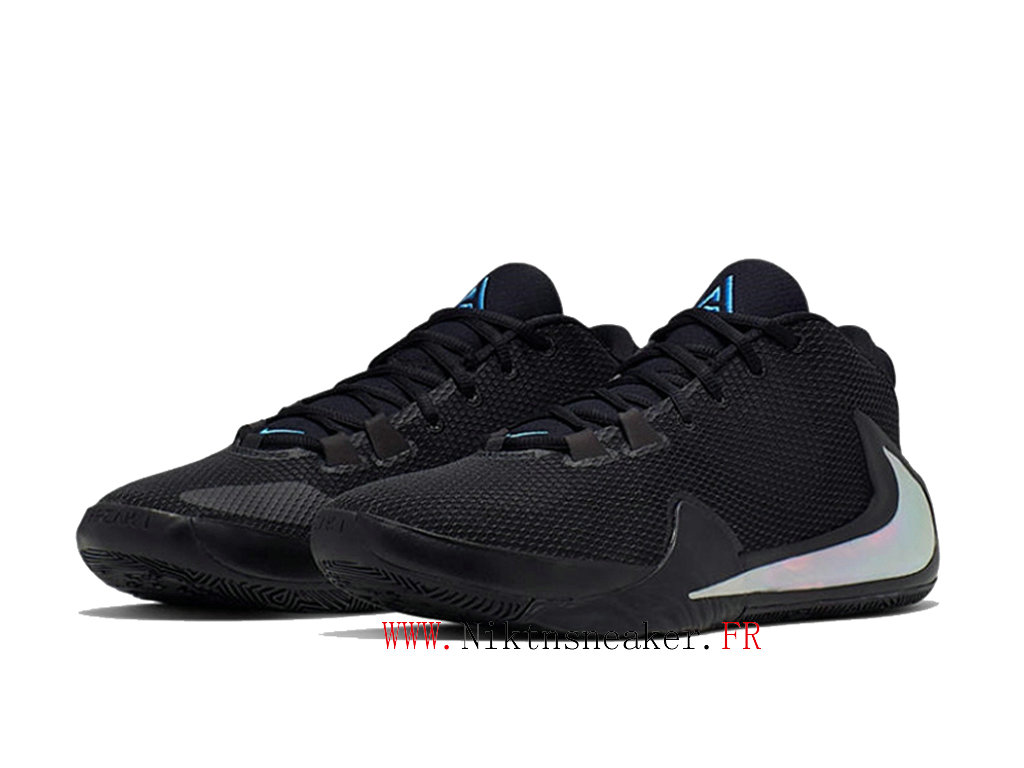 2020 Nike Zoom Freak 1 BQ5422-004 Men ́s Basketball Shoes Cheap Price All Star Black / Silver