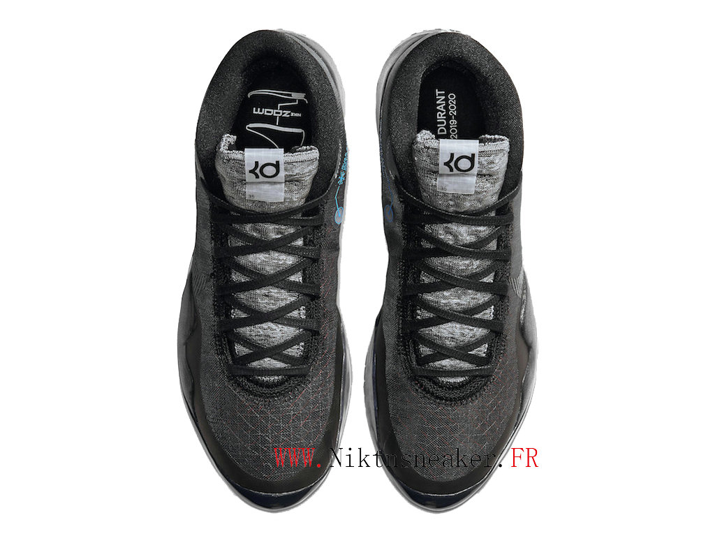 2020 Nike Zoom KD 12 EP AR4229 003  Cheap Basketball Shoes For Men ́s All Star Black / Gray