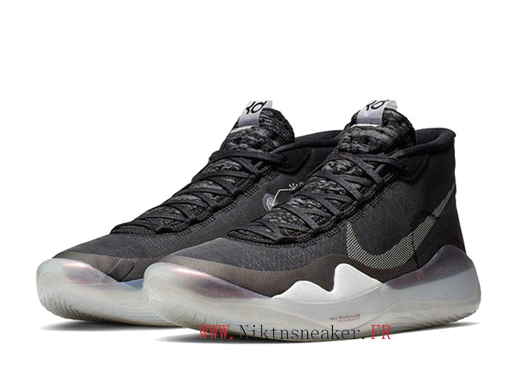2020 Nike Zoom KD 12 EP AR4230 001 Chaussures De Basket Pas Cher Pour Homme Noir Blanc 2002120313 2020 Nouveau Chaussure De Prix Nike Pas Cher