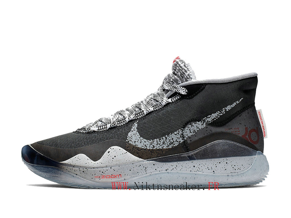 2020 Nike Zoom KD 12 EP AR4230-002 Cheap Basketball Shoes For Men ́s Black / White / Red