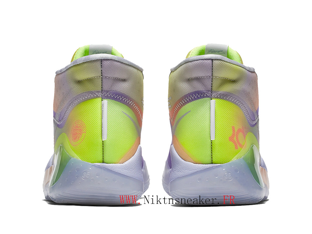 2020 Nike Zoom KD 12 EP CK1201-900 Cheap Basketball Shoes For Men ́s Purple / Gray / Green