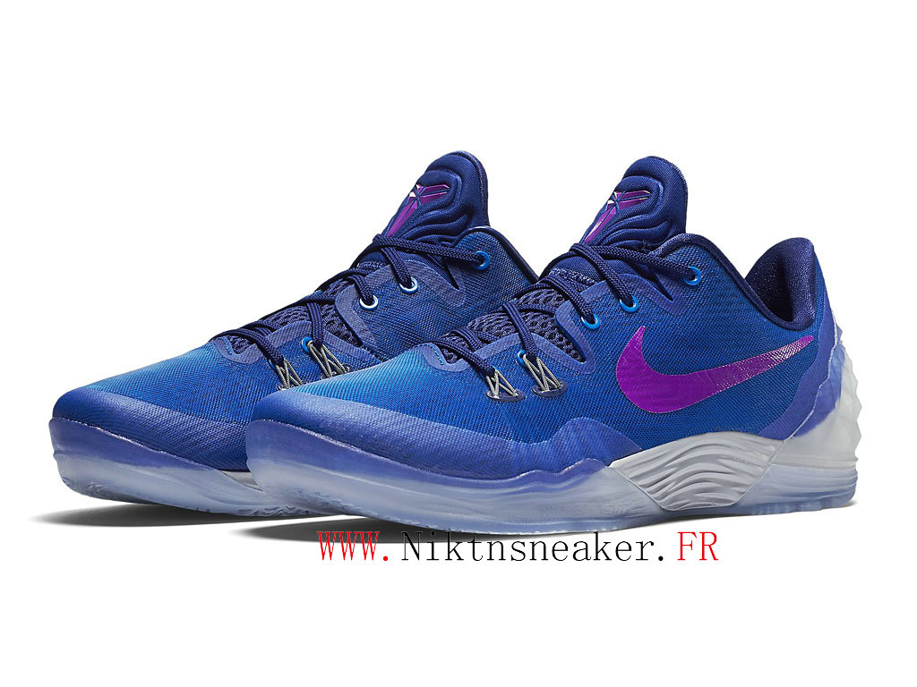 2020 Nike Zoom Kobe Venomenon 5 EP White / Blue / Purple 749884-454 Men´s Basketball Shoes Low Boots