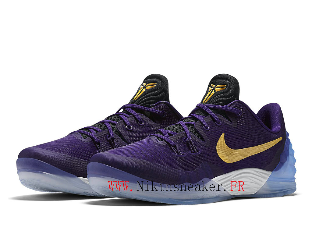 2020 Nike Zoom Kobe Venomenon 5 EP White / Gold / Purple 853939-570 Men´s Basketball Shoes Low Boots