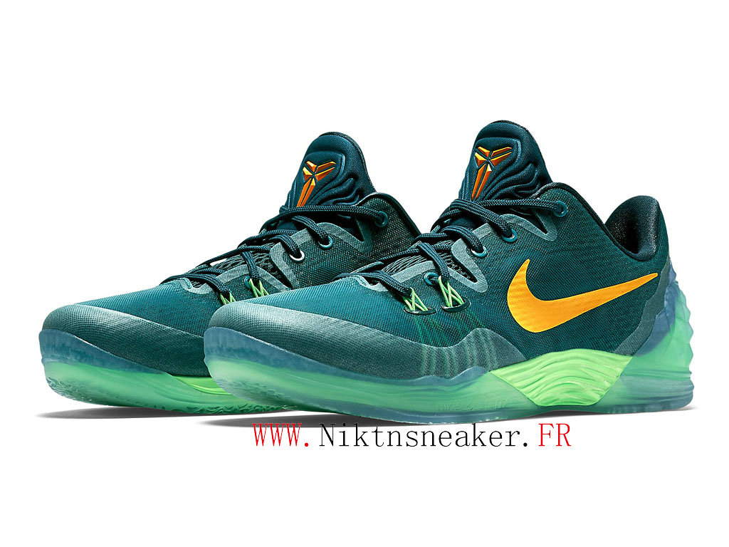 2020 Nike Zoom Kobe Venomenon 5 EP Green / Yellow 815757-383 Men ́s Basketball Shoes Low Boots