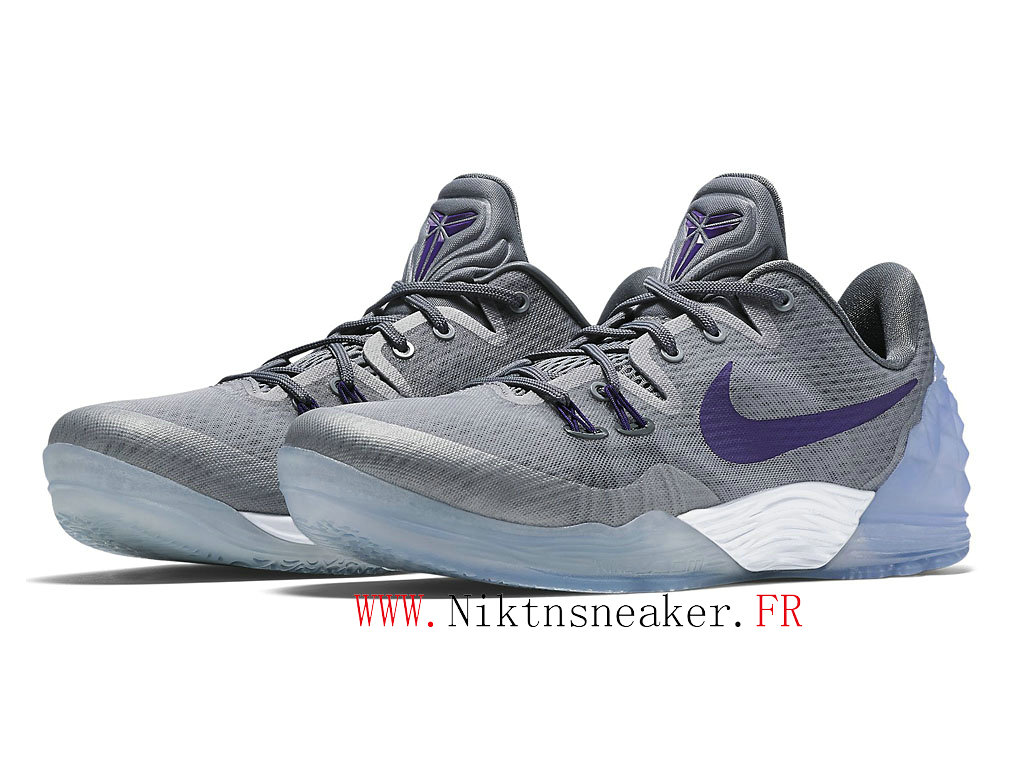 2020 Nike Zoom Kobe Venomenon 5 EP Gray / White / Purple 815757-050 Men´s Basketball Shoes Low Boots