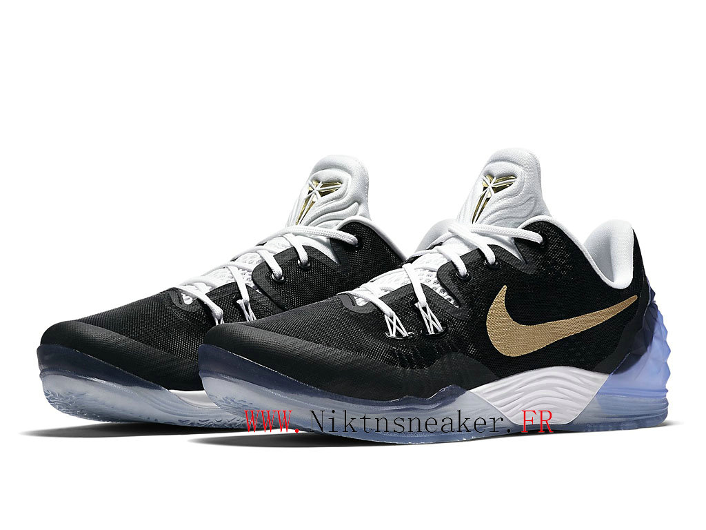 2020 Nike Zoom Kobe Venomenon 5 EP Black / White / Gold 815757-071 Men´s Basketball Shoes Low Boots