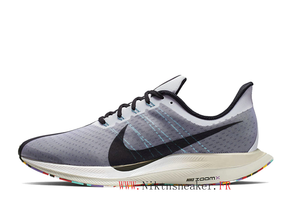 2020 Nike Zoom Pegasus 35 AJ4114 101 Men ́s Nike Running Cheap Shoes Gray / White / Black