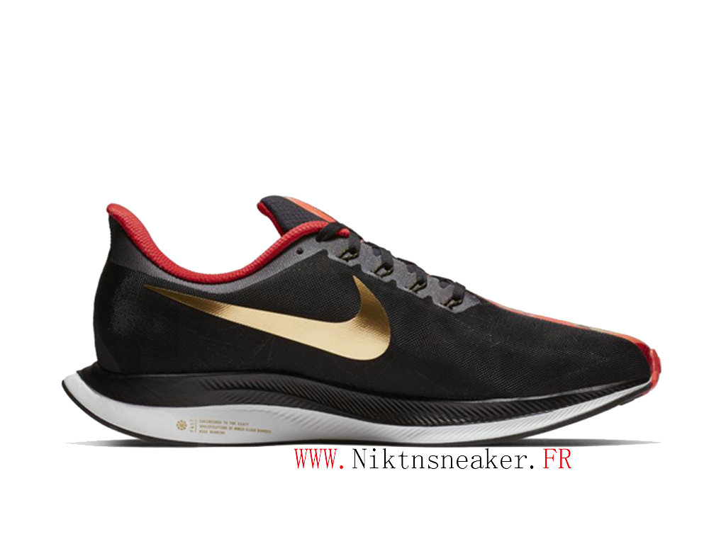2020 Nike Zoom Pegasus 35 BV6656-016 Chaussure de Running Pas Cher Homme Or blanc / noir / rouge
