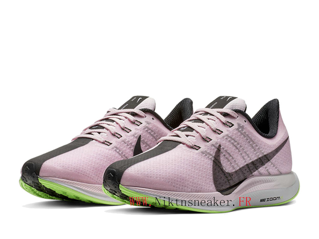2020 Nike Zoom Pegasus 35 Gs AJ4115 601 Women ́s Nike Running Cheap Shoes Pink / Gray / Green