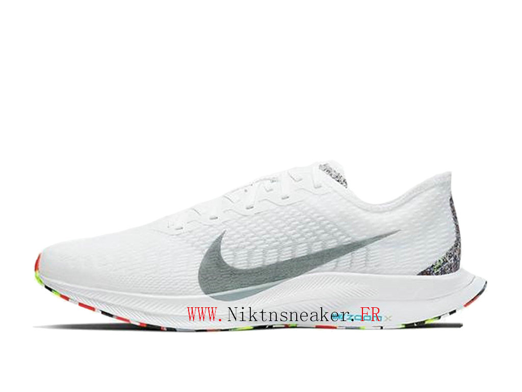 2020 Nike Zoom Pegasus Turbo 2 Gray / White Orange BV7765 100 Men ́s Nike Running Shoes