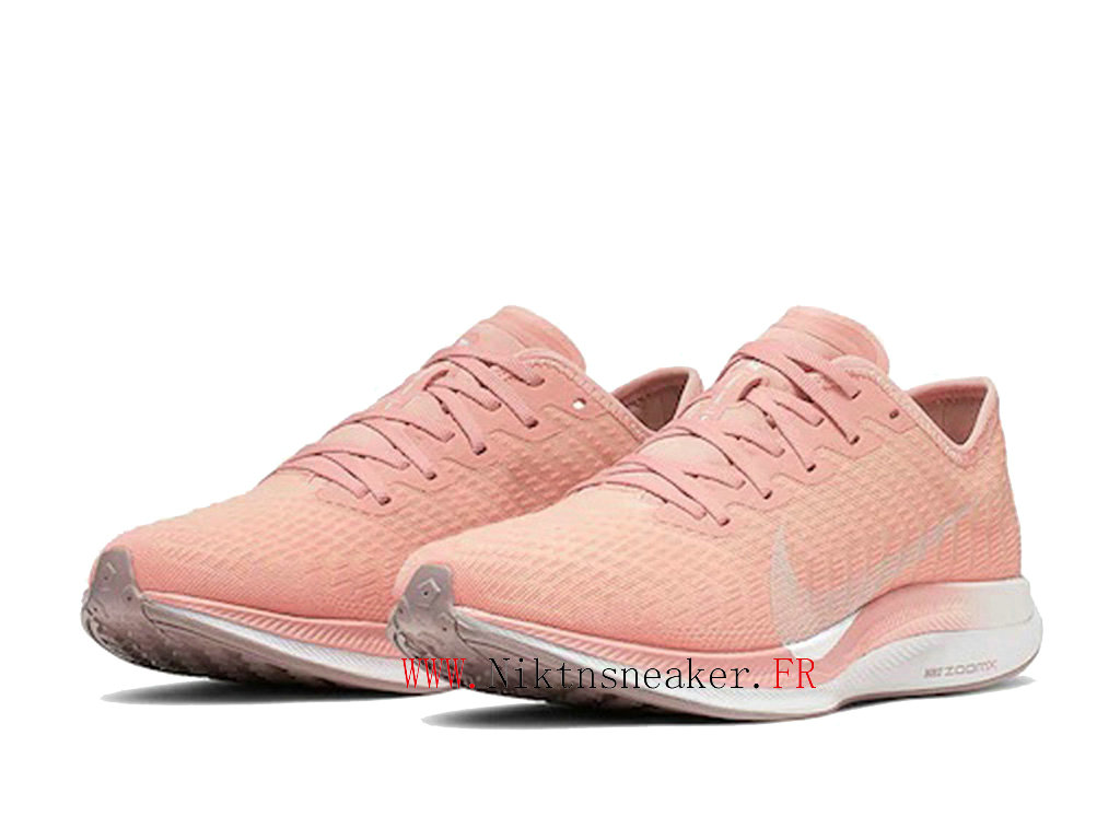 2020 Nike Zoom Pegasus Turbo 2 Gs Blanc / Rose AT8242 600 Chaussure de Running Pas Cher Femme