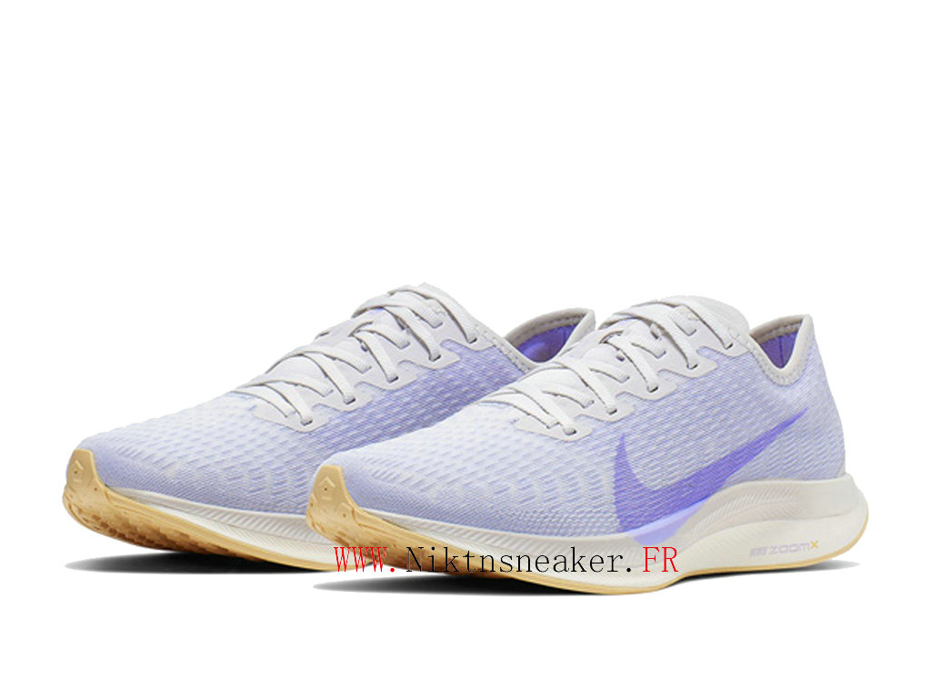 2020 Nike Zoom Pegasus Turbo 2 Gs Violet Rose / Blanc AT8242 004 Chaussure de Running Pas Cher Femme