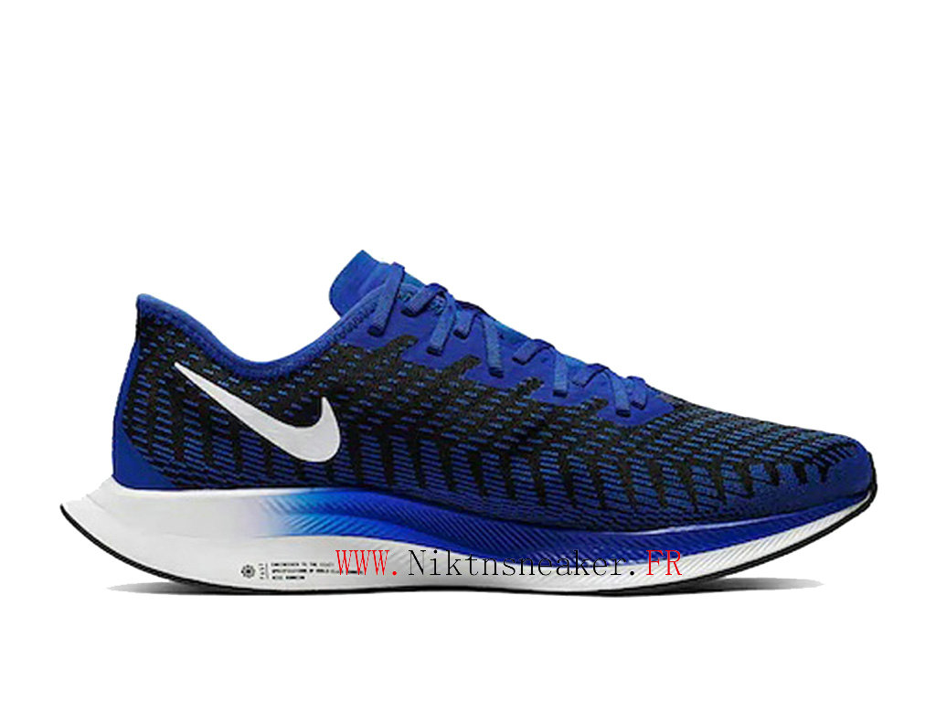 2020 Nike Zoom Pegasus Turbo 2 Black / White Blue AT2863 400 Men ́s Nike Running Shoes