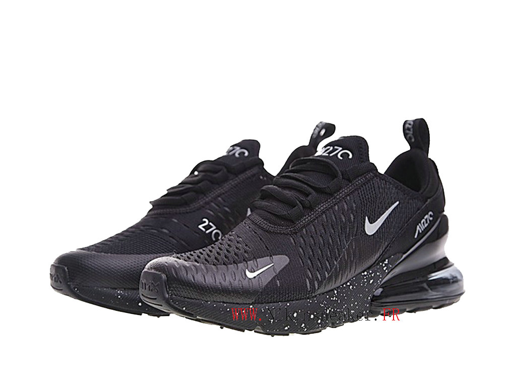 Nike Air Max 270 Men ́s Air Cushion Shoes 2020 All Black / White AH8050 202