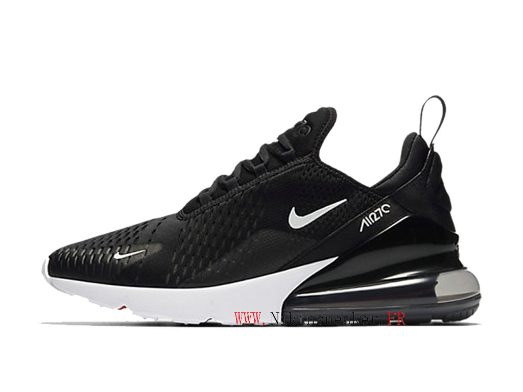 Nike Air Max 270 Men ́s Air Cushion Shoes 2020 Women ́s Black / White AH8050-002