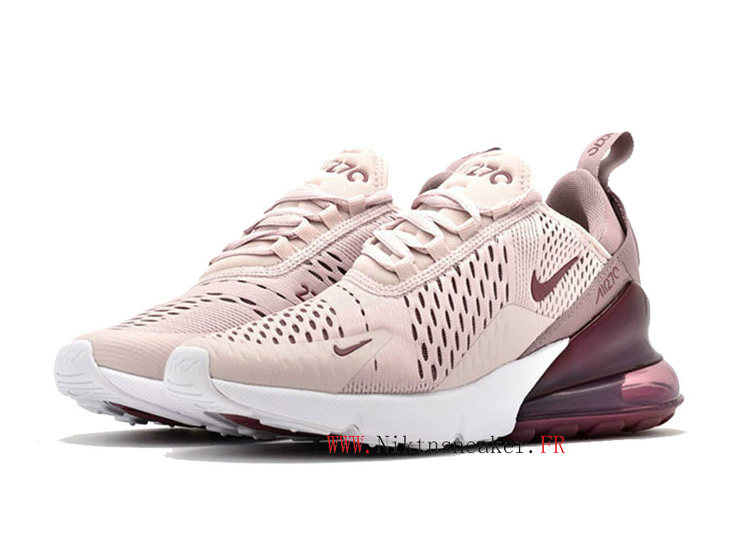 Nike Air Max 270 Gs Women ́s Air Cushion Shoes 2020 All-White / Pink AH6789-601