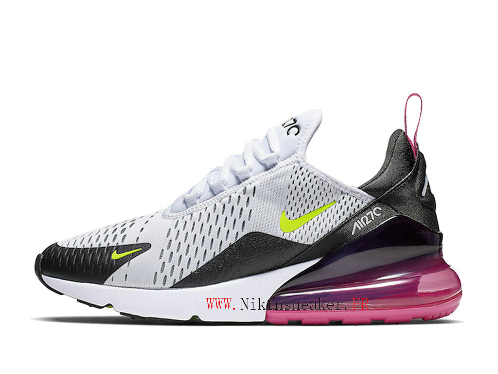 Nike Air Max 270 Gs Women ́s Air Cushion Shoes 2020 Black / White / Pink AH8050-109