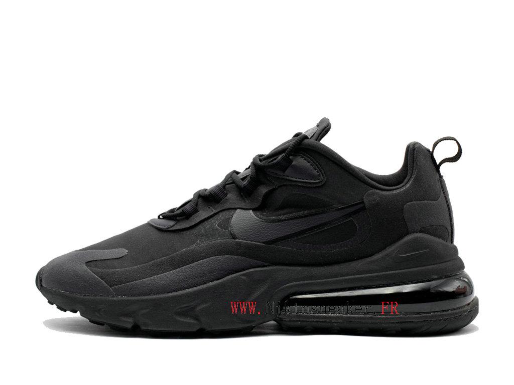Nike Air Max 270 React Chaussures 2020 De Coussin Dair Pour Homme All Star Noir Noir AO4971 003 2002050197 2020 Nouveau Chaussure De Prix Nike Pas