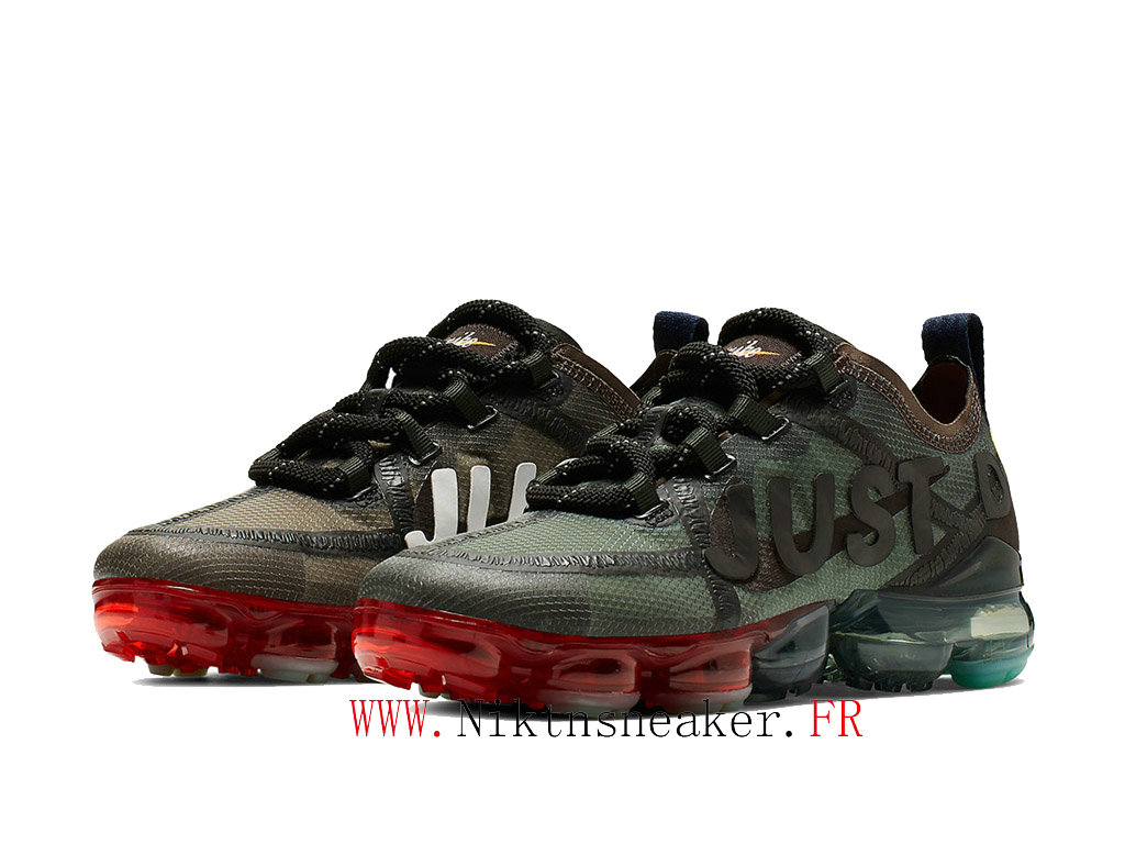 Nike Air Vapormax 2020 x CPFM CD7001 300 Men ́s Pirx Running Shoes Women ́s Prairie Green / Black / Neon