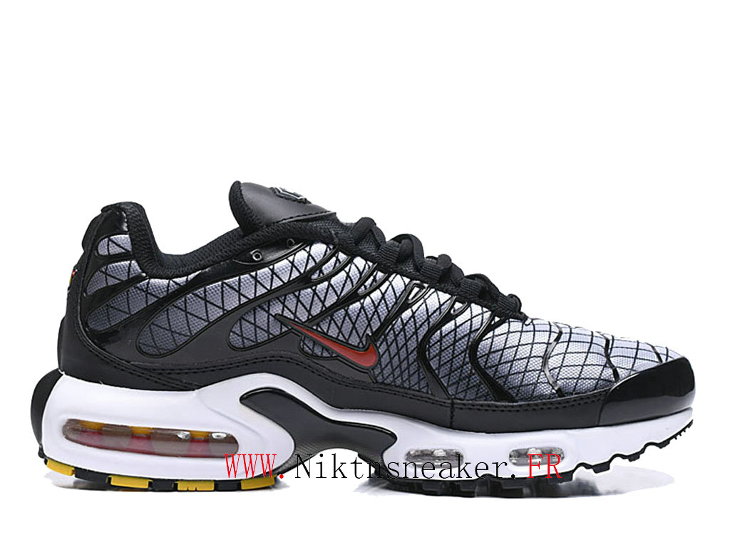 New 2020 Nike Air Max Plus Tn Black / White Red Men ́s Cheap Sportswear Shoes For