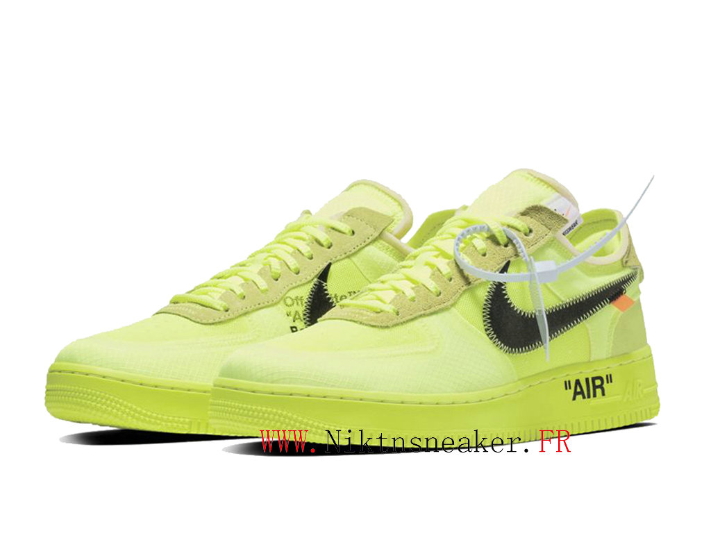 nike air force 1 femme fluo