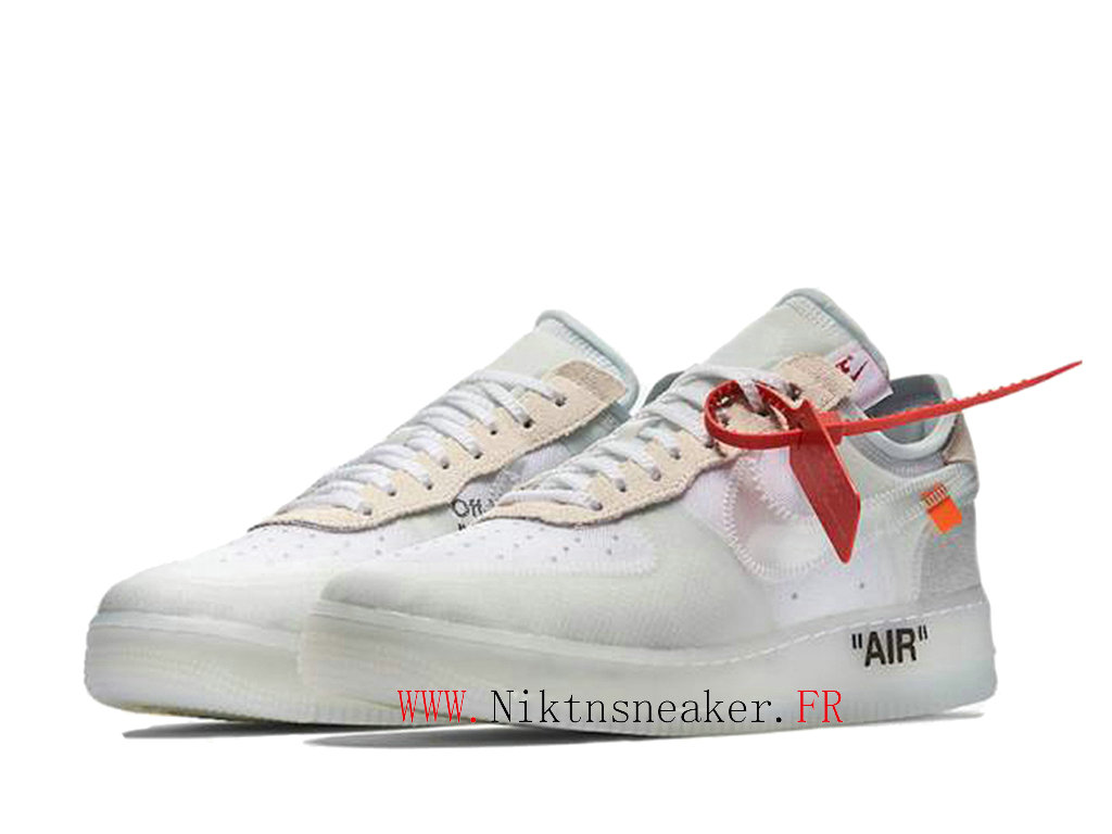 Off-White X Nike Air Force 1 Price AO4606-100 Men ́s Cheap Shoes Women ́s White / beige