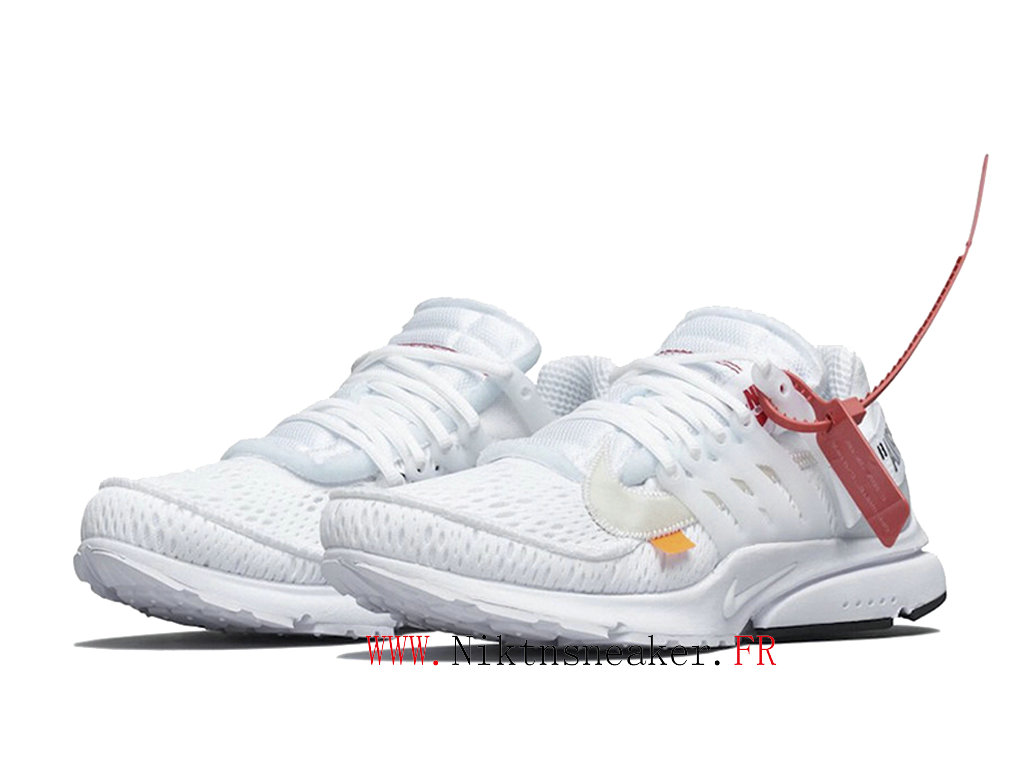 Off White x Nike Air Presto AA3830-100 Chaussures Pas Cher Pour Homme Femme Amants / blancs